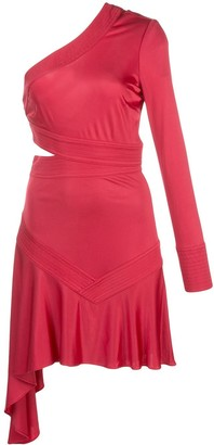 Alexis Rocca one shoulder dress