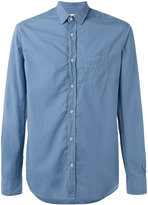 Officine Generale shirt with chest pocket - men - Cotton - XXL