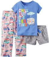 Carter's Girls 4-14 Pajama Set