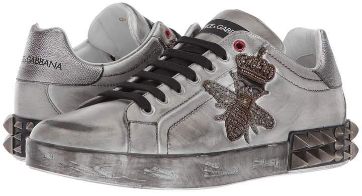 Dolce & Gabbana Bee Sneaker Men's Shoes