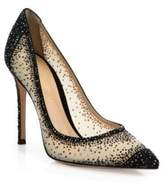 Gianvito Rossi Crystal-Embellished Pumps