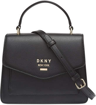 DKNY Whitney Leather North South Top Handle Satchel