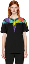 Marcelo Burlon County of Milan Black Neurk T-shirt