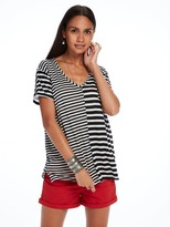 Scotch & Soda T-Shirt With Mixed Stripes