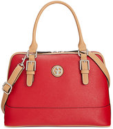Giani Bernini Saffiano Dome Satchel, Only at Macy's