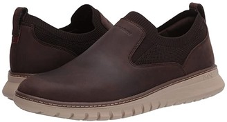 Mark Nason Neo Casual - Rennic (Dark Brown) Men's Slip on Shoes