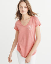 Abercrombie & Fitch Logo Graphic Tee