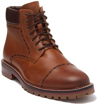 Warfield & Grand Peralta Leather Cap Toe Boot