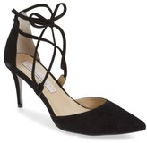 Kristin Cavallari Women's 'Opel' Lace-Up Pointy Toe Pump