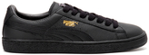 Puma Basket Classic Lfs Low Top Trainers Black/team Gold
