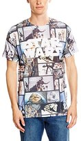Star Wars Men's Characters Short Sleeve T-Shirt