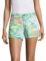 Lilly Pulitzer Callahan Cotton Shorts