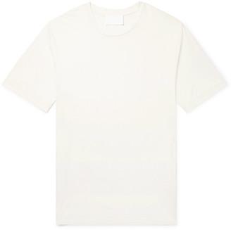 Helmut Lang Oversized Silk-Jersey T-Shirt