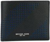 Michael Kors Harrison slim billfold wallet - men - Leather - One Size
