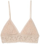 Hanky Panky Padded Triangle Bralette in Chai