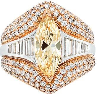Diana M Fine Jewelry 18K 5.05 Ct. Tw. Diamond Ring