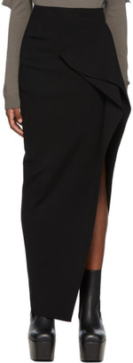 Rick Owens Black Grace Skirt