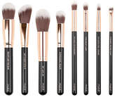 M.O.T.D. Cosmetics Lux Vegan Essential Brush Set in Metallic Gold.