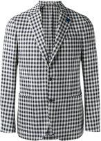 Lardini single-breasted blazer - men - Cotton/Linen/Flax/Polyester - 48