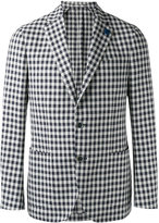 Lardini single-breasted blazer - men - Cotton/Linen/Flax/Polyester - 52