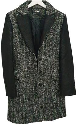 Karen Millen Grey Wool Coat for Women