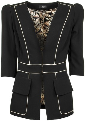 Elisabetta Franchi Celyn B. Jacket With V-neck
