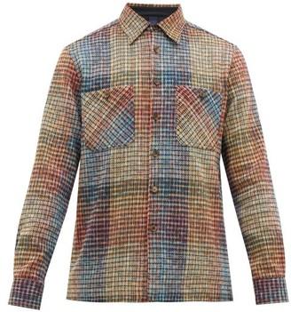 Missoni Zigzag-weave Cotton-blend Overshirt - Multi