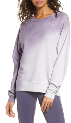 Zella Jamie Spray Dye Sweatshirt