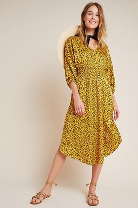 Anthropologie Marigold Midi Dress