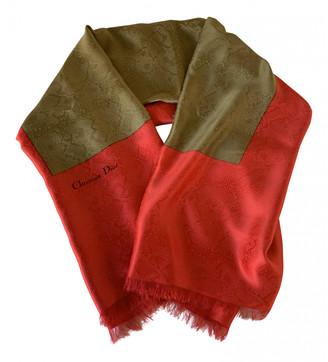Christian Dior Multicolour Silk Scarves