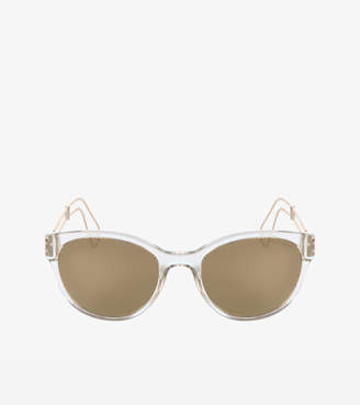 Cole Haan Classic Round Cateye Sunglasses