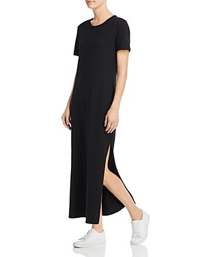 AG Adriano Goldschmied Womens Alana Short Sleeve Maxi Dress