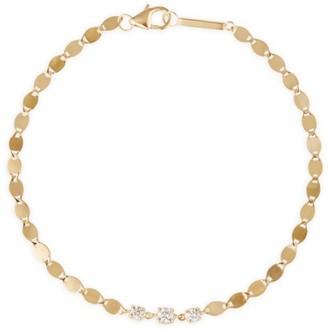 Lana Solo 3 14K Yellow Gold & Diamond Nude Bracelet