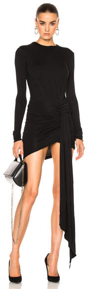 Alexandre Vauthier Soft Stretch Jersey Dress