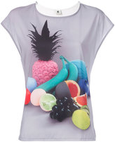 Paul Smith fruit print T-shirt - women - Polyester/Spandex/Elastane/Modal - XS