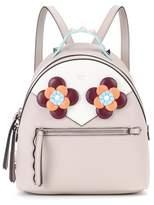 Fendi Mini embellished leather backpack
