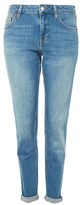 Topshop MOTO Authentic Blue Lucas Boyfriend Jeans