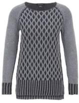 Tribal Grey Reversible Sweater