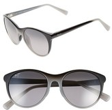 Maui Jim Women's Mannikin 54Mm Polarizedplus Cat Eye Sunglasses - Grey Fade/ Neutral Grey