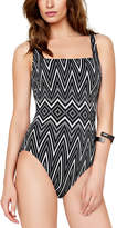 Gottex Infinity Square Neck Tank One-Piece