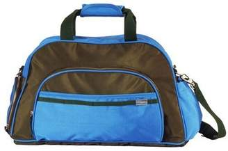 Little Company Spice Travel Bag in Olive and Malibu Blue