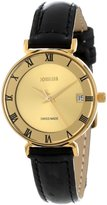 Jowissa Women's J2.047.S Strada PVD Dial Roman Numeral Date Watch