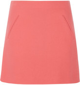 Marni Double-faced wool-crepe mini skirt