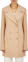 The Row Women's Zora Cashmere Peacoat-TAN