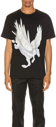 Givenchy Graphic Tee in Black | FWRD
