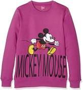 Disney Girl's Felpa Ragazza Sports Hoodie,S