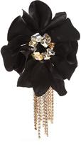 Lanvin Crystal-embellished flower bracelet
