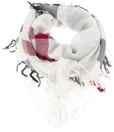 Burberry 'House' check scarf - women - Wool - One Size