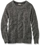 L.L. Bean Bailey Island Sweater, Marled Pullover
