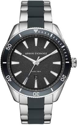 Armani Exchange Enzo Stainless Steel Bracelet Watch